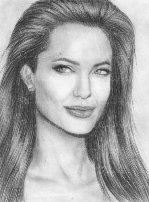 Angelina Jolie by rossella